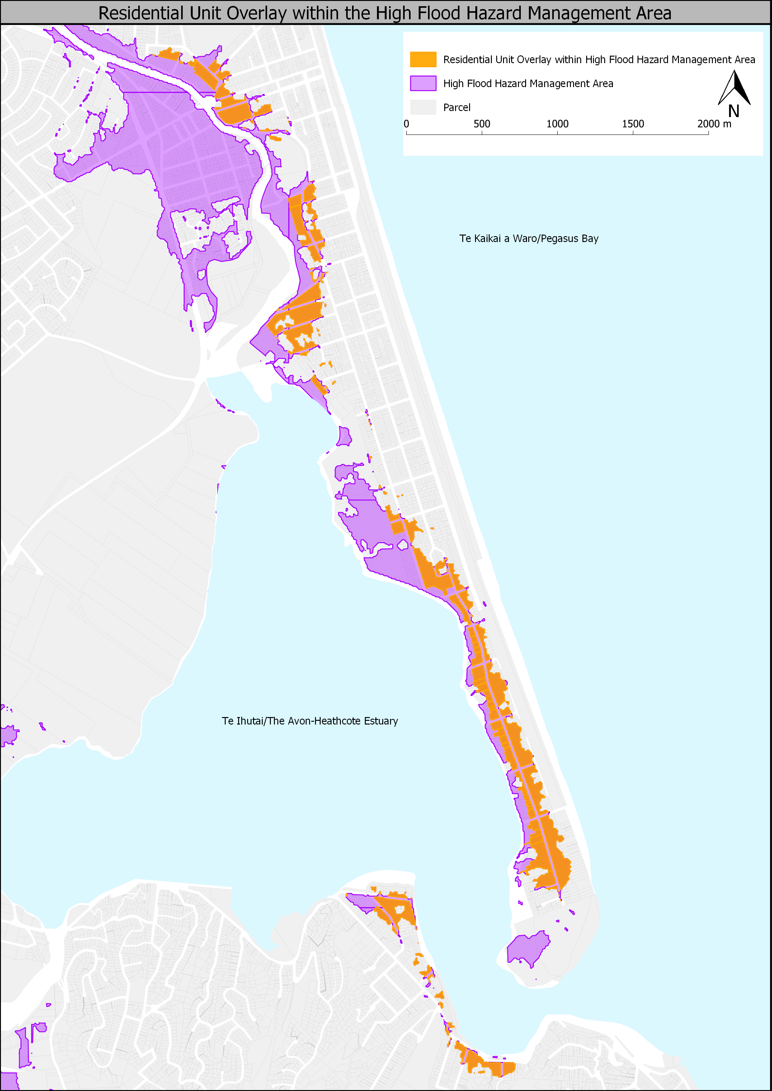 Residential Unit Overlay within the High Flood Hazard Management Area