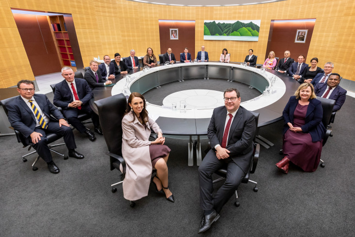 Members of the cabinet 2020